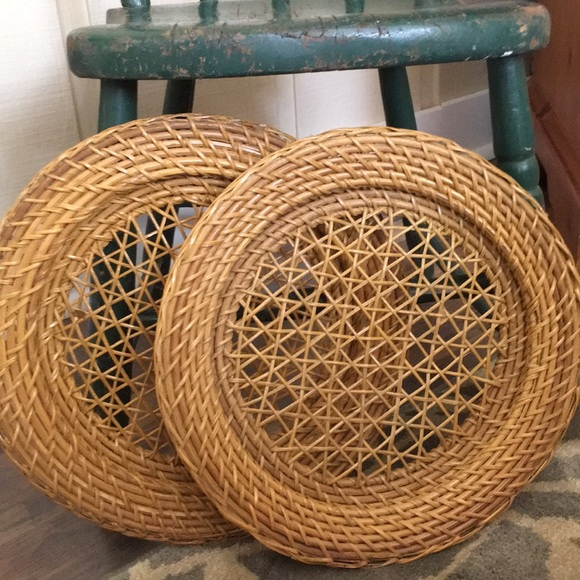 None Other - Vintage Wicker Decor